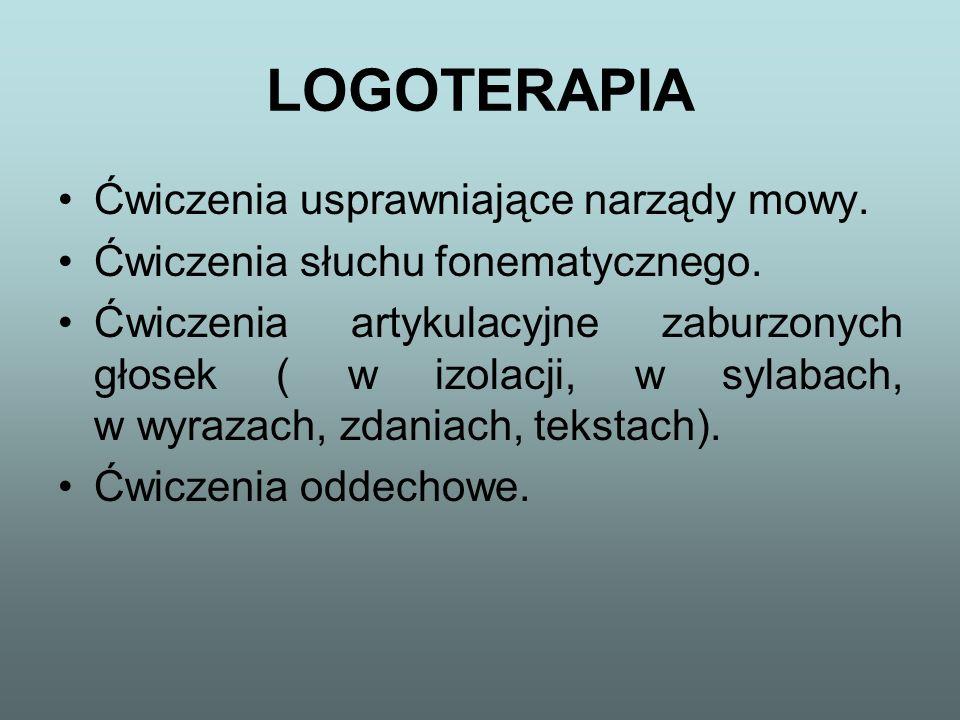 LOGOTERAPIA TO: Systematyczna praca w gabinecie logopedycznym.