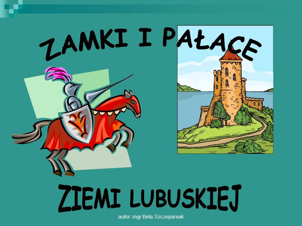 autor: mgr Beta Szczepaniak Zamek wzniesiony w końcu XIV wieku, przez lata był m.in.