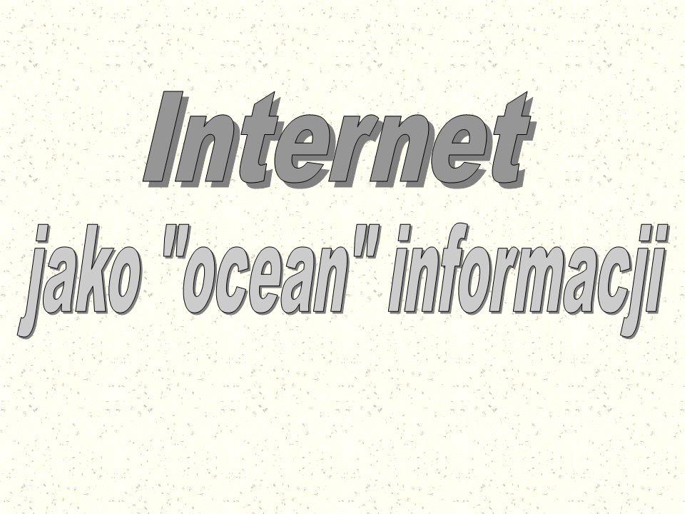 ZakończenieZakończenie Internet – jak ocean – jest rozległy i ciągle się zmienia.