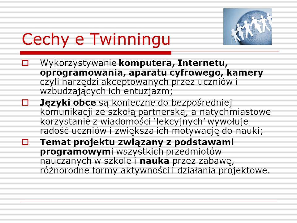 eTwinning w naszej szkole Nasza szkoła realizuje program eTwinning od kilku lat.