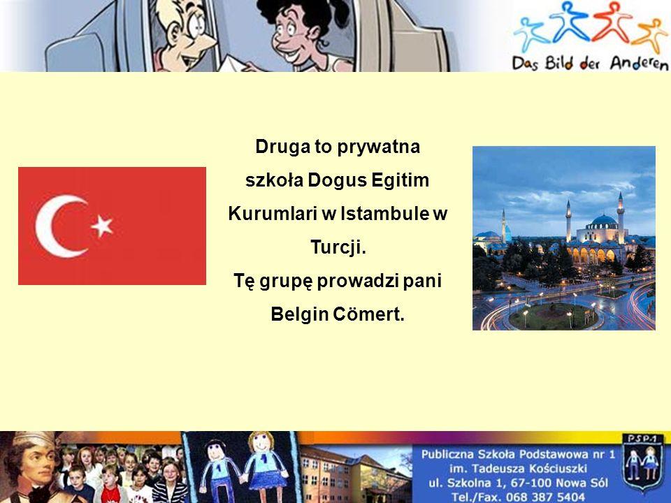 Druga to prywatna szkoła Dogus Egitim Kurumlari w Istambule w Turcji.