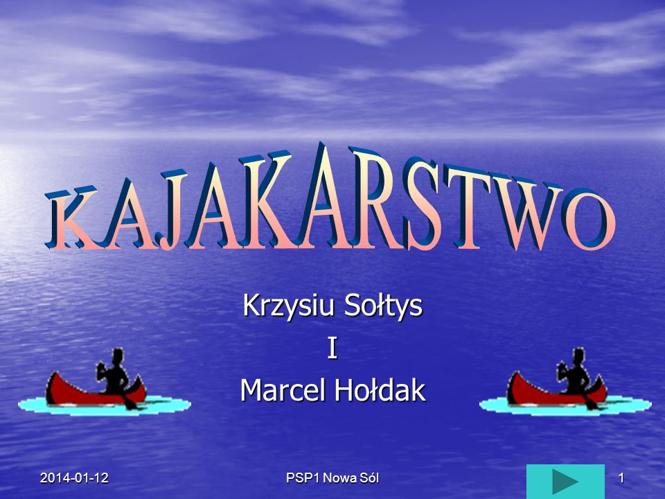 PSP1 Nowa Sól12014-01-12 Krzysiu Sołtys I Marcel Hołdak