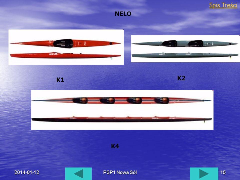 2014-01-12PSP1 Nowa Sól15 NELO Spis Treści K1 K2 K4