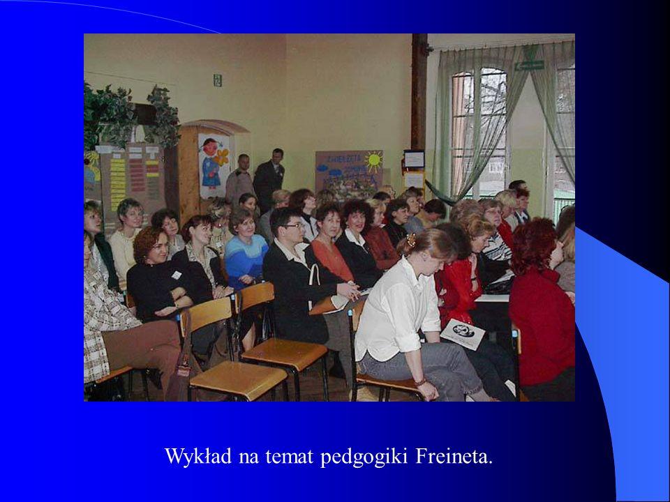 Wykład na temat pedgogiki Freineta.