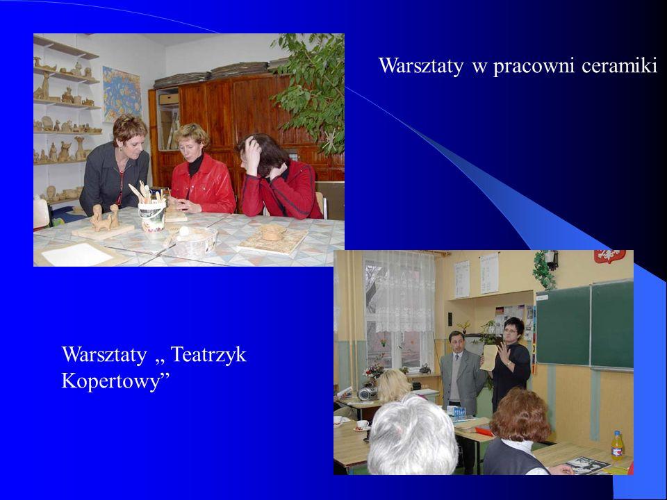 Warsztaty w pracowni ceramiki Warsztaty Teatrzyk Kopertowy
