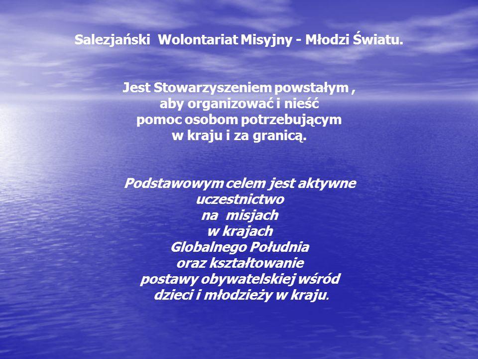 Salezjański Wolontariat Misyjny - Młodzi Światu.