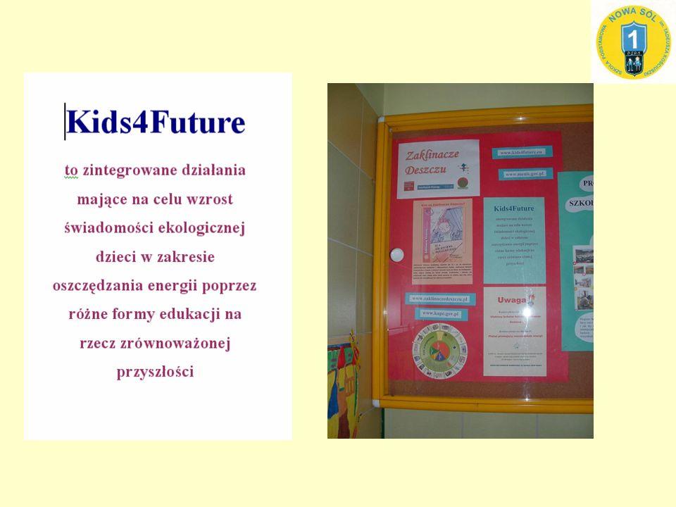 W roku szkolnym 2007/2008 nauczyciele naszej szkoły wzięli udział w szkoleniu na temat poszanowania energii.