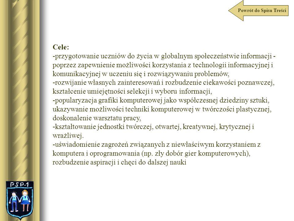Powrót do Spisu Treści PSP1 – na Konferencjach Zielonogórskie Spotkania z Technologią Informacyjną I Konferencja Dnia 18.10.2007r.