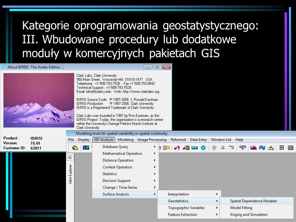 Oprogramowanie uzupełniające Wybrane programy ( LCMFIT2, NEWCOKB3D ), których kody źródłowe opublikowano w czasopiśmie Computers & Geosciences http://www.iamg.org/index.php?option=com_content&task=cate gory&sectionid=19&id=44&Itemid=165http://www.iamg.org/index.php?option=com_content&task=cate gory&sectionid=19&id=44&Itemid=165 http://207.176.140.93/documents/oldftp/VOL28/v28-08-01.zip http://207.176.140.93/documents/oldftp/VOL25/v25-6-2.zip