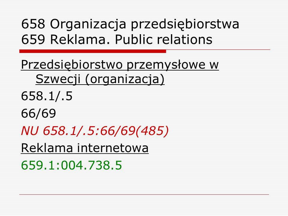 658 Organizacja przedsiębiorstwa 659 Reklama. Public relations Przedsiębiorstwo przemysłowe w Szwecji (organizacja) 658.1/.5 66/69 NU 658.1/.5:66/69(4