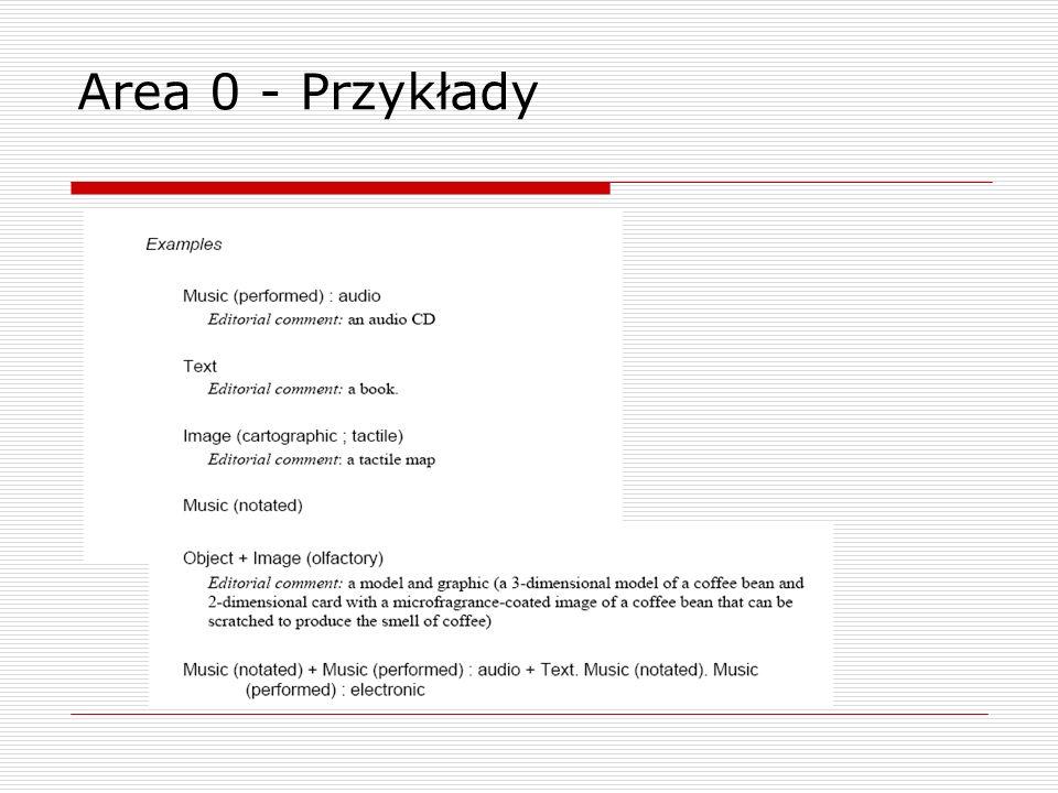 Area 0 - Przykłady