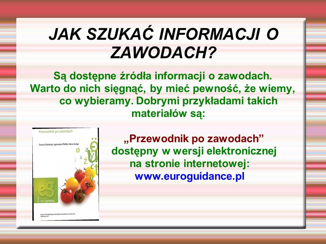 Bibliografia Poradnik dla rodziców Kim zostanie moje dziecko?, Krystyna Grzesiak, Beata Zienkiewicz, wyd.