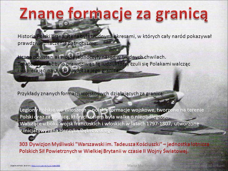 Historia Polski przeplatana była trudnymi okresami, w których cały naród pokazywał prawdziwe znaczenie patriotyzmu. Liczne powstania i wojny jednoczył
