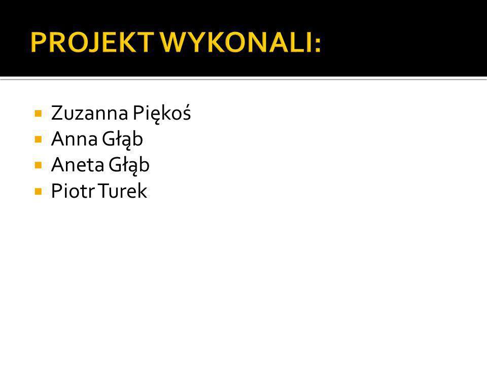 Zuzanna Piękoś Anna Głąb Aneta Głąb Piotr Turek