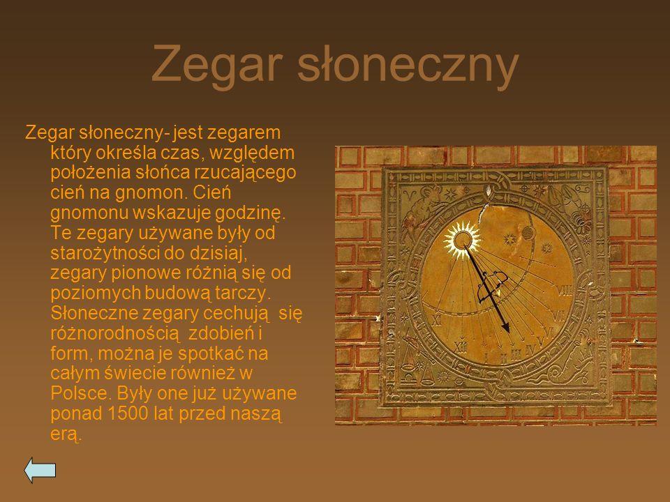 Klepsydra Klepsydra- jest to rodzaj zegara starożytnego piaskowego, skonstruowany z dwóch szklanych baniek ułożonych pionowo.