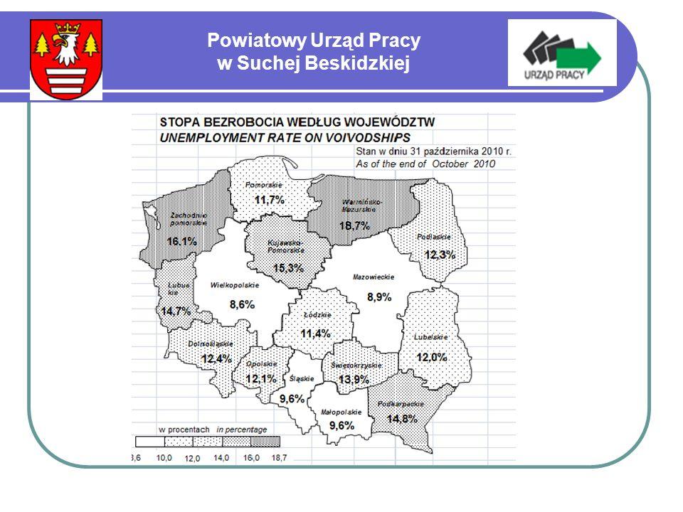 Powiatowy Urząd Pracy w Suchej Beskidzkiej Ilość osób bezrobotnych zaktywizowanych w ramach tzw.