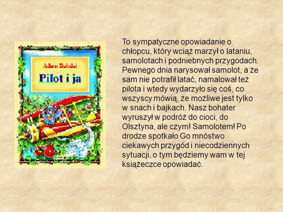 To sympatyczne opowiadanie o chłopcu, który wciąż marzył o lataniu, samolotach i podniebnych przygodach.