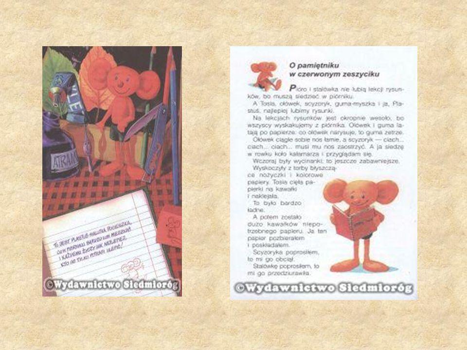 lastusiowy pamiętnik to doskonale wszystkim znana lektura szkolna, w której mały ludzik z plasteliny z Tosią i jej klasą przeżywa przeróżne perypetie, a także poznaje prawa i obowiązki ucznia.