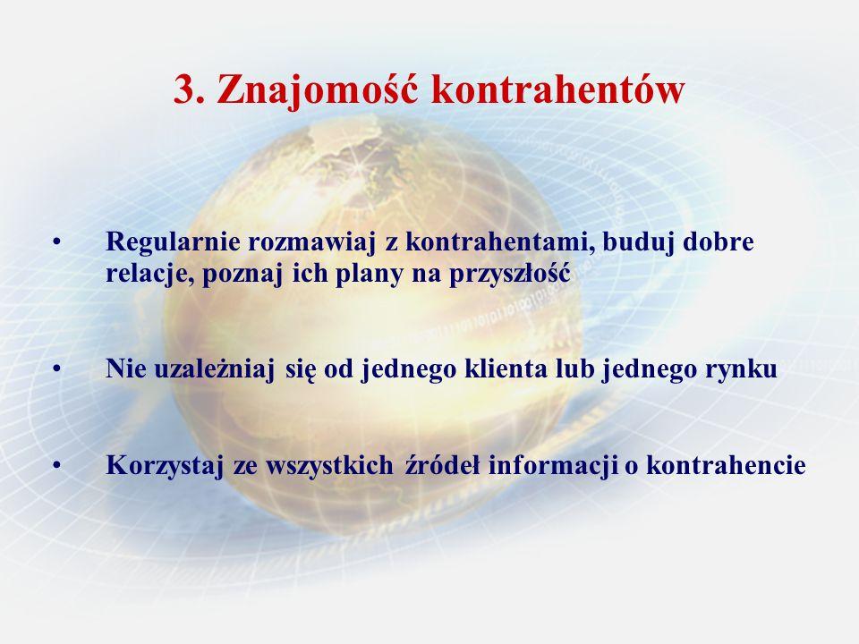 Ochrona ubezpieczeniowa każdego kontraktu handlowego Europolisa – ubezpieczenie dla małych firm rozpoczynających sprzedaż swoich towarów lub prowadzących wymianę handlową na niewielką skalę z partnerami z Polski i innych krajów europejskich (za wyjątkiem Ukrainy, Białorusi i Rosji) Pakiet – produkt dla firm działających zarówno na rynku krajowym, jak i rynkach zagranicznych, pozwala na ubezpieczenie wszystkich należności od kontrahentów krajowych i zagranicznych z większości krajów świata Gwarancje ubezpieczeniowe: przetargowe, zwrotu zaliczki, dobrego wykonania kontraktu, celne i akcyzowe