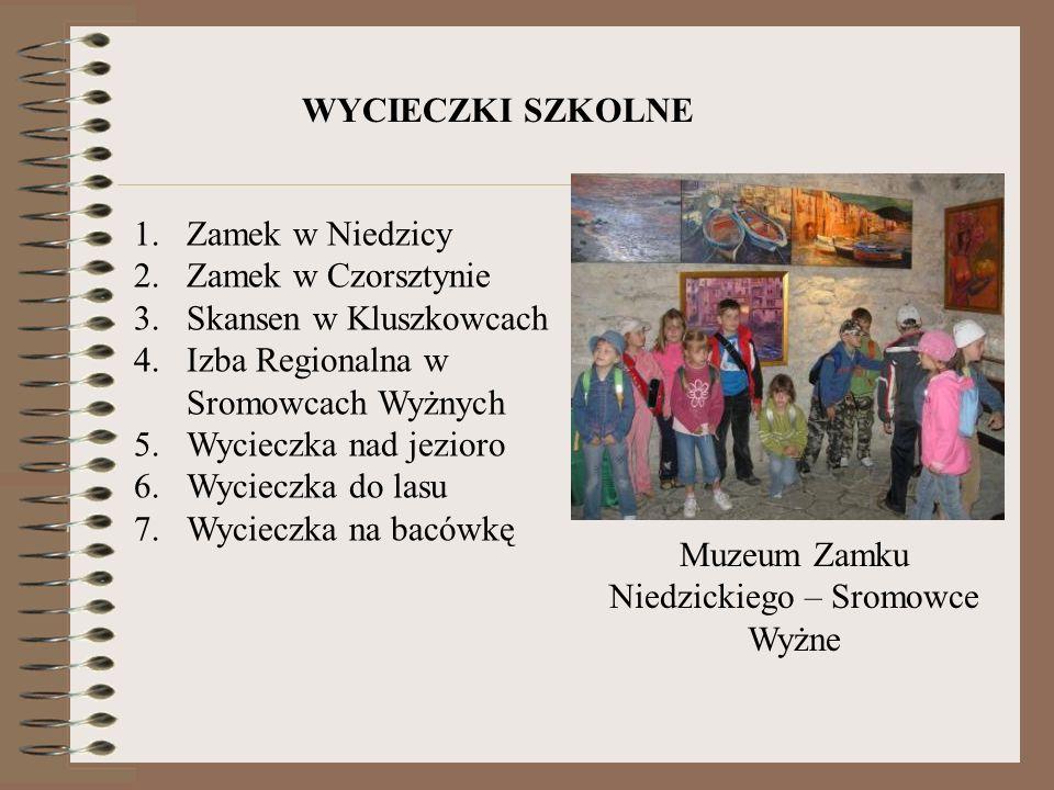 Muzeum Zamku Niedzickiego – Sromowce Wyżne WYCIECZKI SZKOLNE 1.Zamek w Niedzicy 2.Zamek w Czorsztynie 3.Skansen w Kluszkowcach 4.Izba Regionalna w Sro