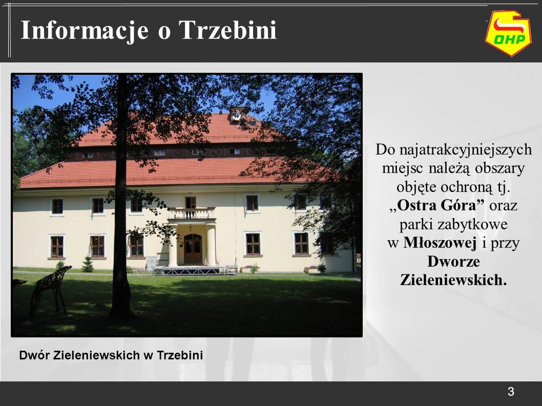 Do najatrakcyjniejszych miejsc należą obszary objęte ochroną tj.Ostra Góra oraz parki zabytkowe w Młoszowej i przy Dworze Zieleniewskich. 3 Informacje