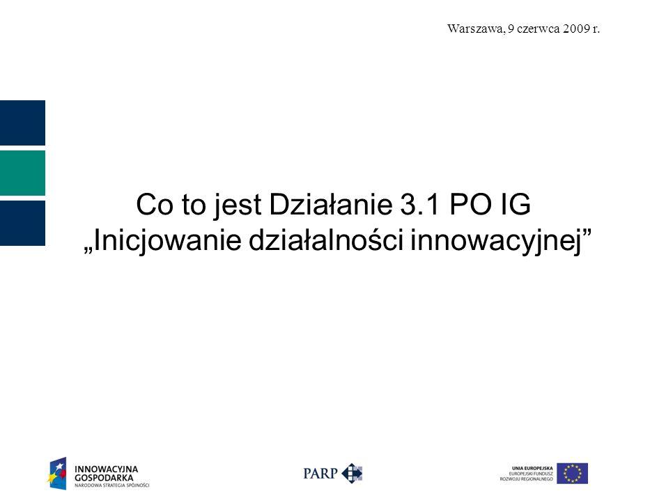 Warszawa, 9 czerwca 2009 r. Przykładowy projekt