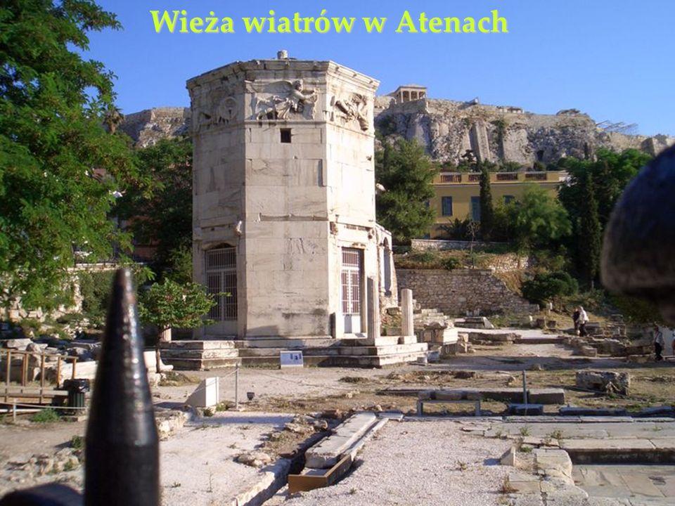 Wieża wiatrów w Atenach