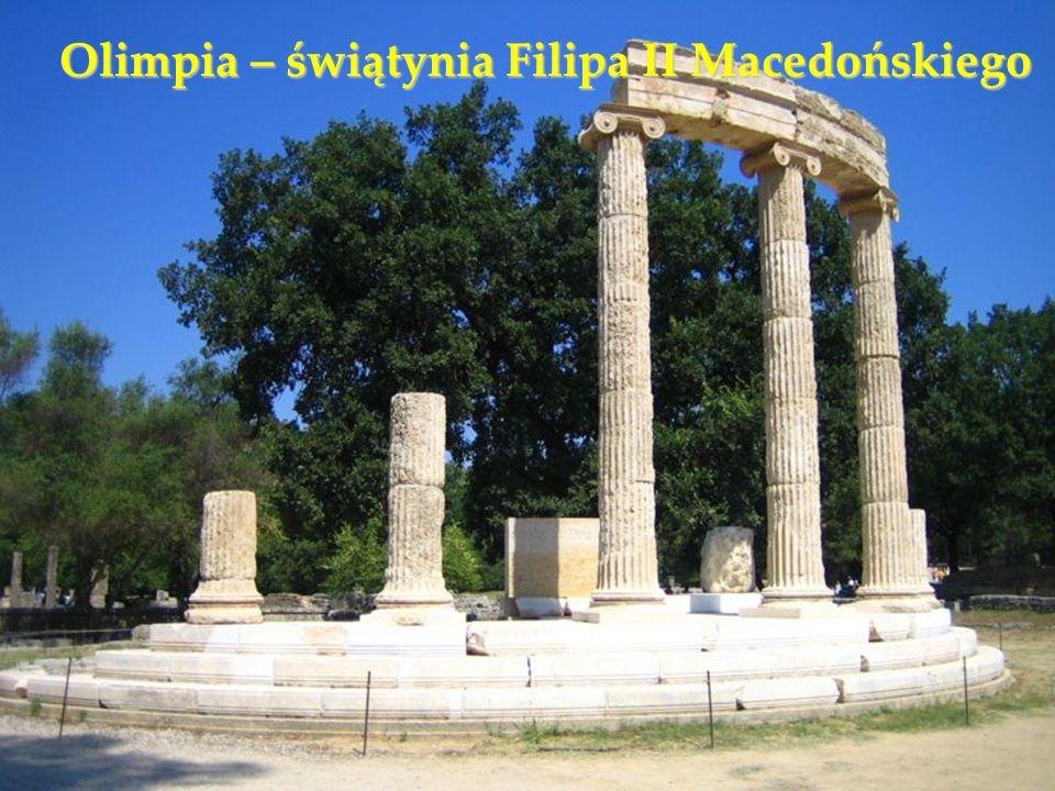 Olimpia – świątynia Filipa II Macedońskiego