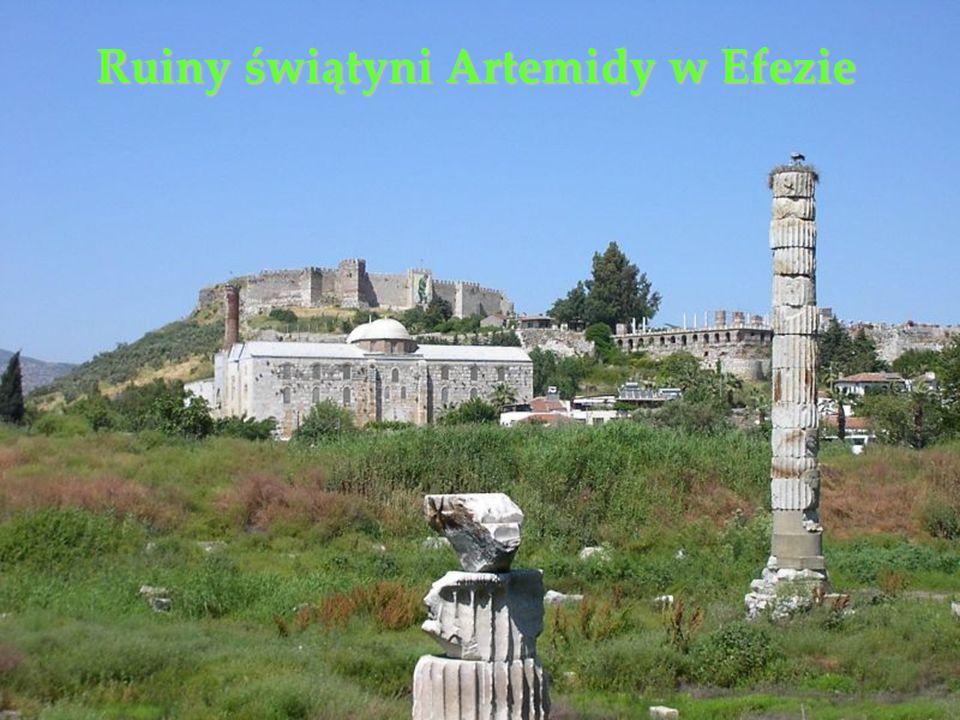 Ruiny świątyni Artemidy w Efezie