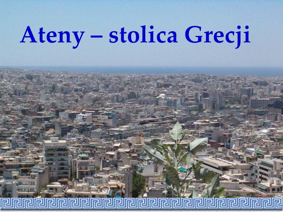 Stadion olimpijski w Atenach XXVIII Igrzyska Olimpijskie odbyły się latem 2004 roku w miejscu swych narodzin, w Atenach.