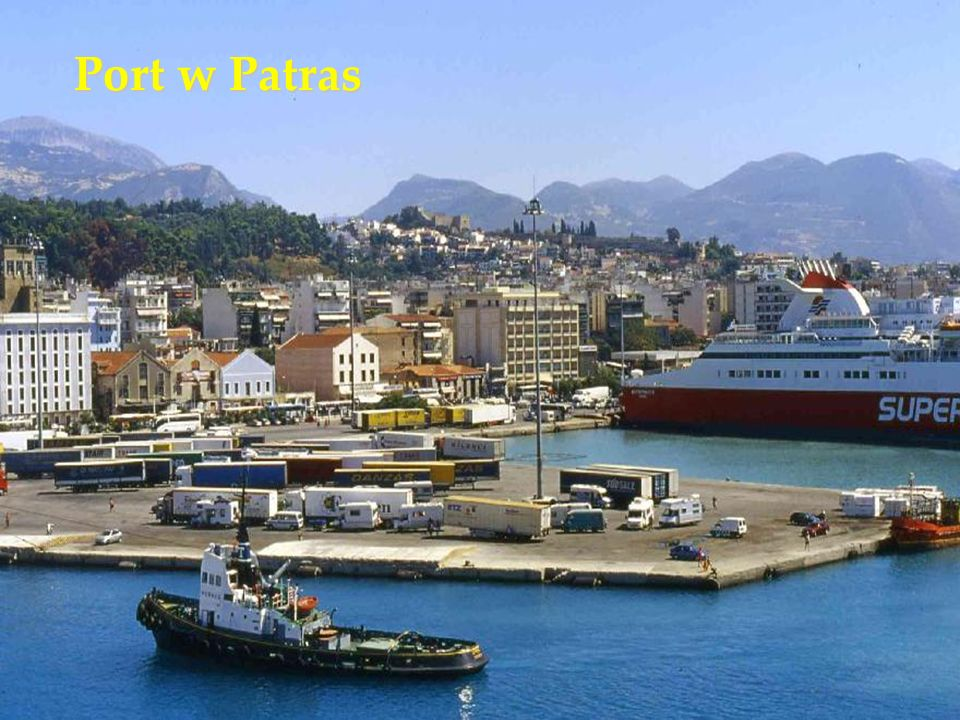 Port w Patras
