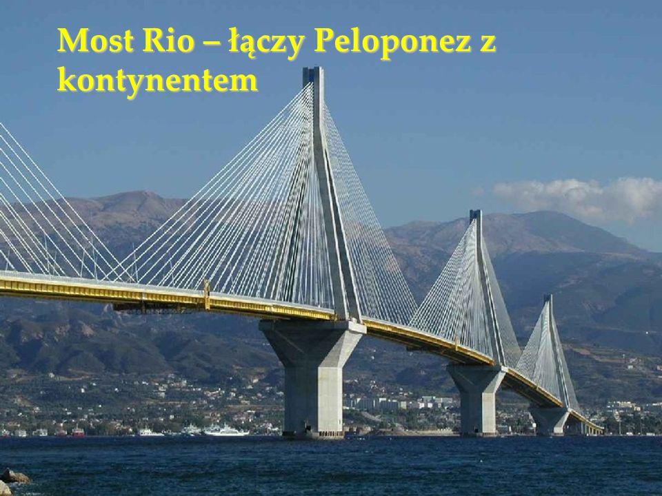Most Rio – łączy Peloponez z kontynentem