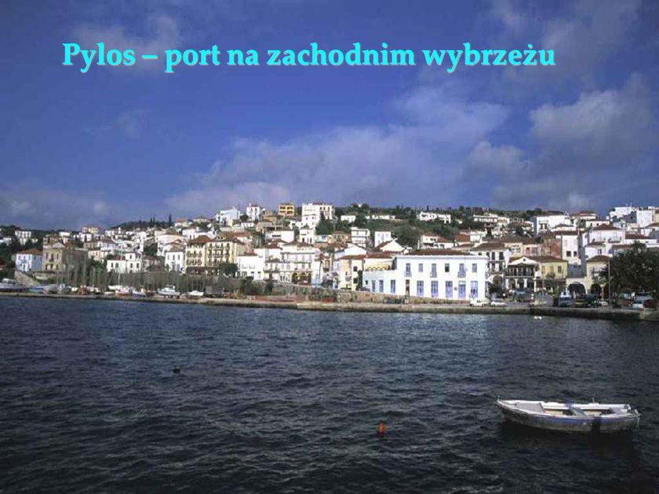 Pylos – port na zachodnim wybrzeżu