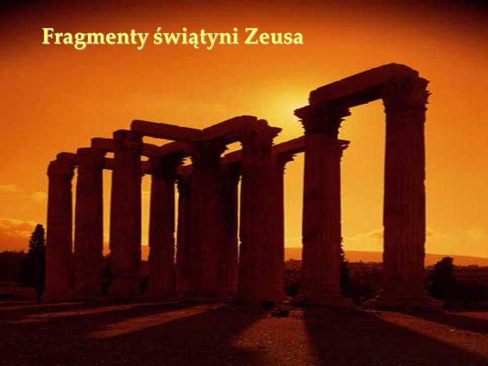 Fragmenty świątyni Zeusa