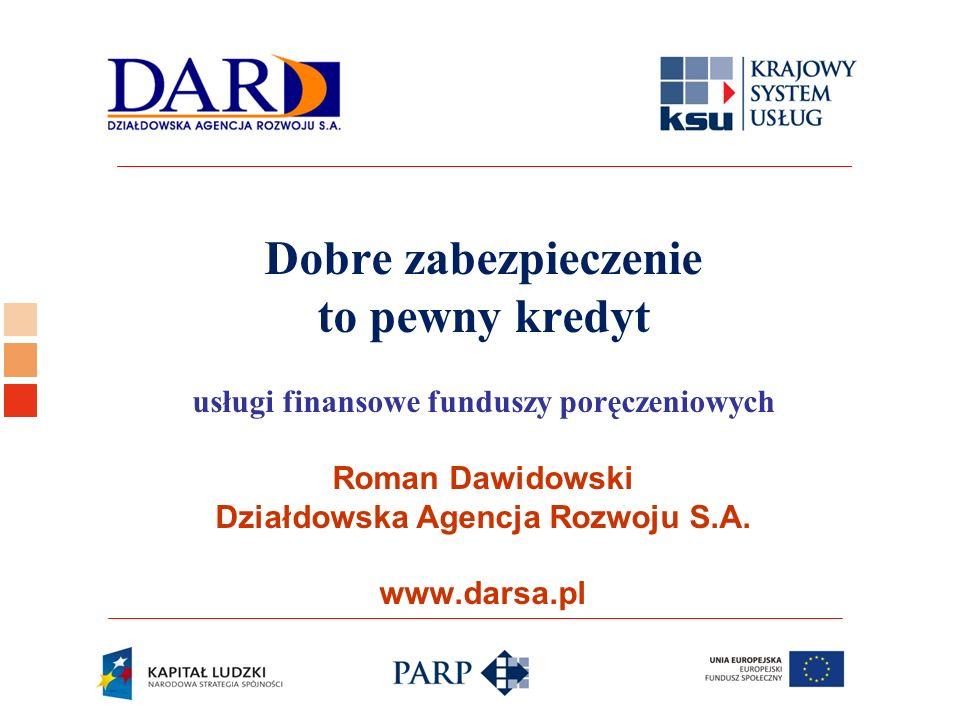 Logo ośrodka KSU Zakres prezentacji: - zarys historyczny funduszy poręczeń kredytowych (FPK) - dlaczego FPK - zasady funkcjonowania FPK - perspektywy rozwoju FPK