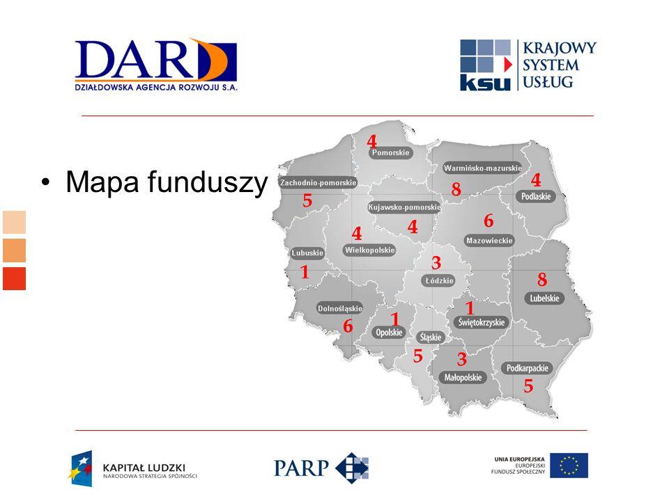 Logo ośrodka KSU Mapa funduszy