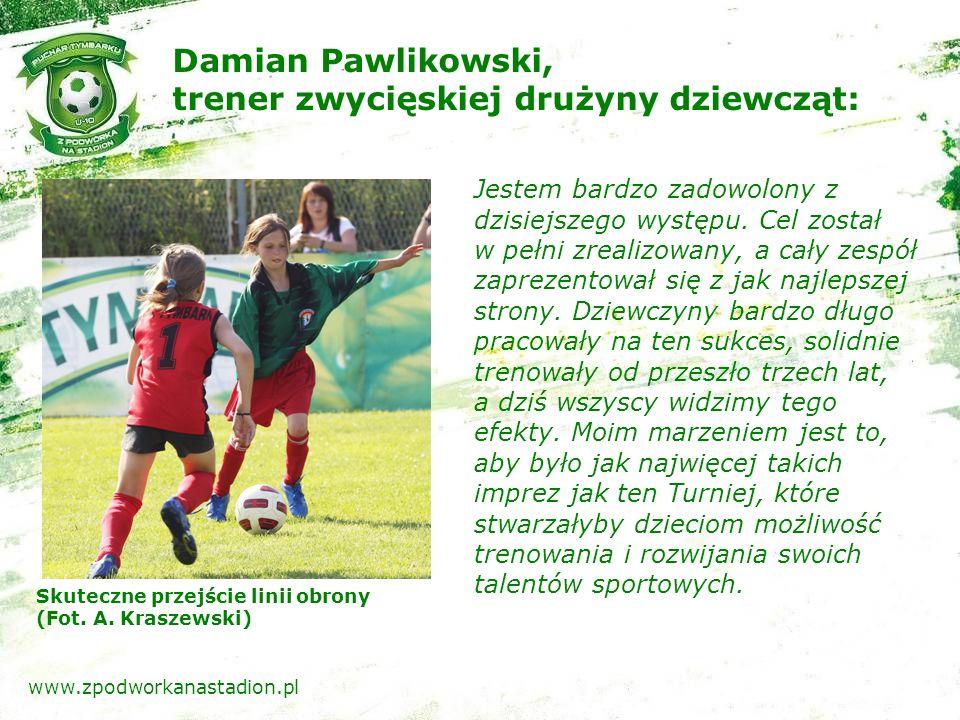 Strzał w światło bramki (Fot. A. Kraszewski) www.zpodworkanastadion.pl