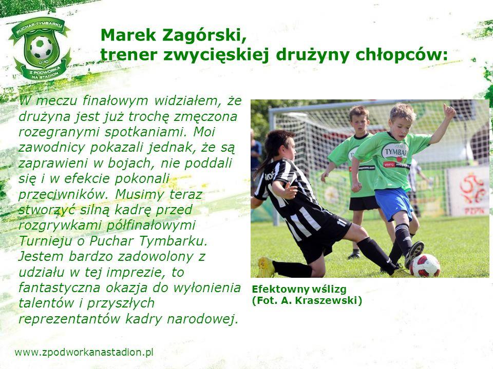 Skuteczna interwencja bramkarza (Fot. A. Kraszewski) www.zpodworkanastadion.pl