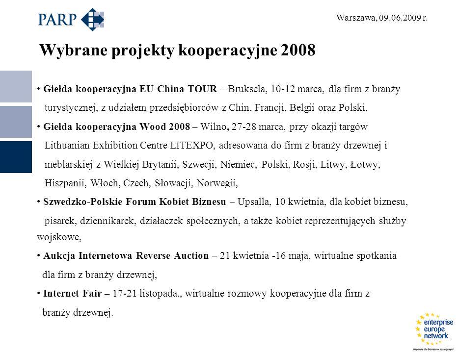 Warszawa, 09.06.2009 r.