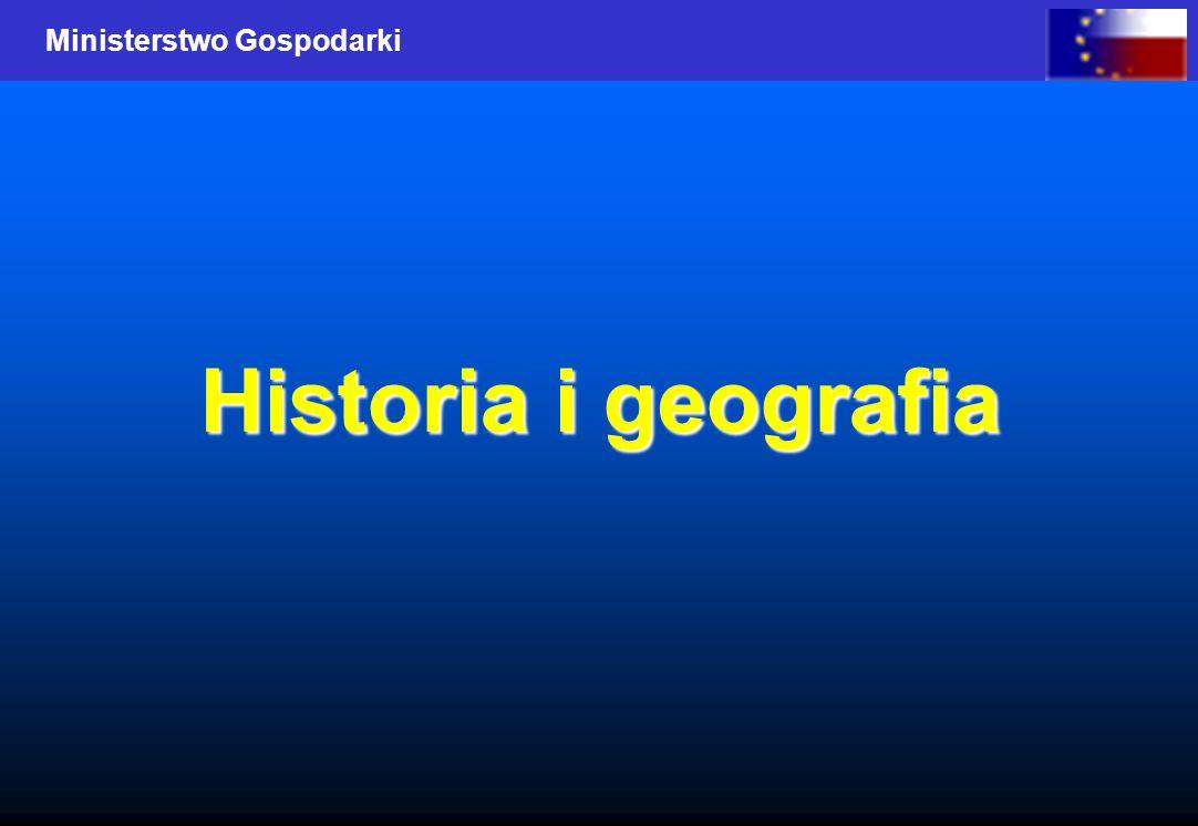 Ministerstwo Gospodarki Historia i geografia