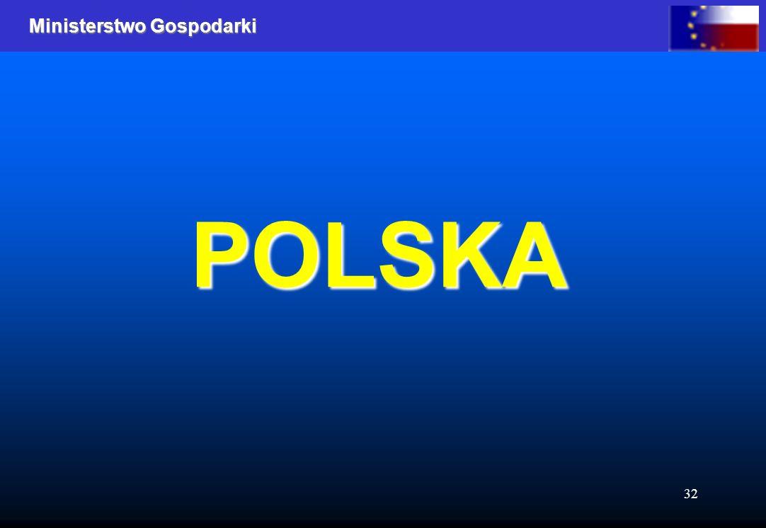 Ministerstwo Gospodarki 32 POLSKA
