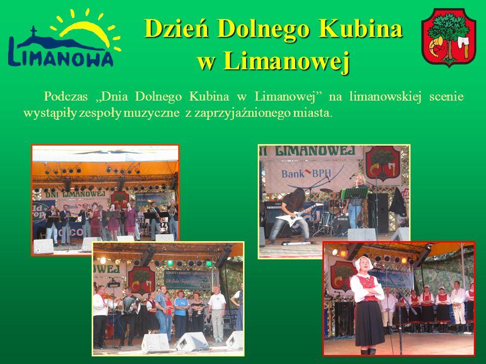 Podczas Dnia Dolnego Kubina w Limanowej na limanowskiej scenie wystąpiły zespoły muzyczne z zaprzyjaźnionego miasta.
