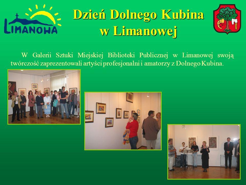 W Galerii Sztuki Miejskiej Biblioteki Publicznej w Limanowej swoją twórczość zaprezentowali artyści profesjonalni i amatorzy z Dolnego Kubina.