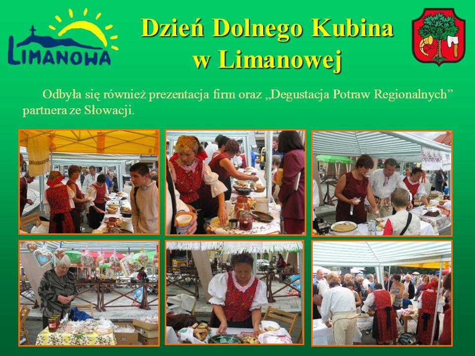 Odbyła się również prezentacja firm oraz Degustacja Potraw Regionalnych partnera ze Słowacji.