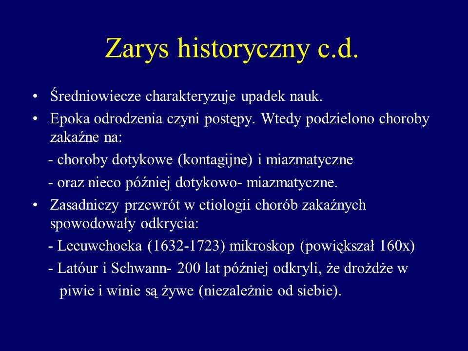 Lancizi (lekarz papieża Klemensa VII) opracował przepisy sanitarne zapobiegające zarazom (w XVIII w.