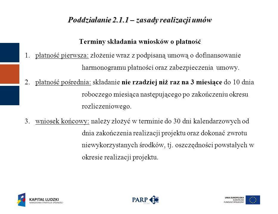 Kol.nr 1 Zadania zdefiniowane we wniosku o dofinansowanie Kol.