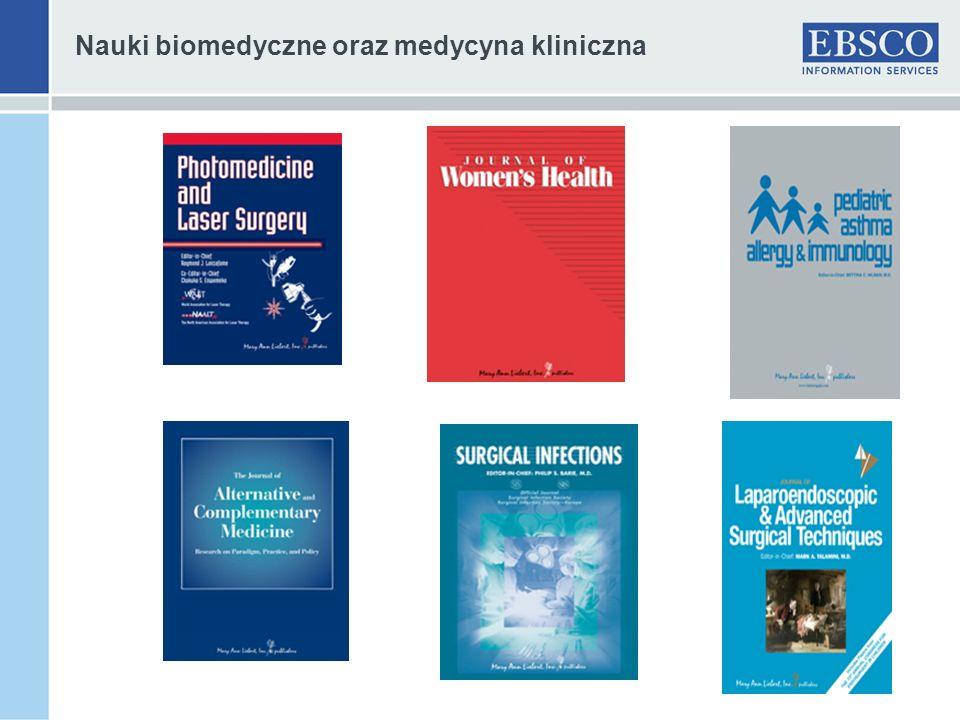 Nauki biomedyczne oraz medycyna kliniczna