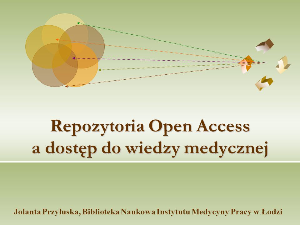 Co to jest Open Access.