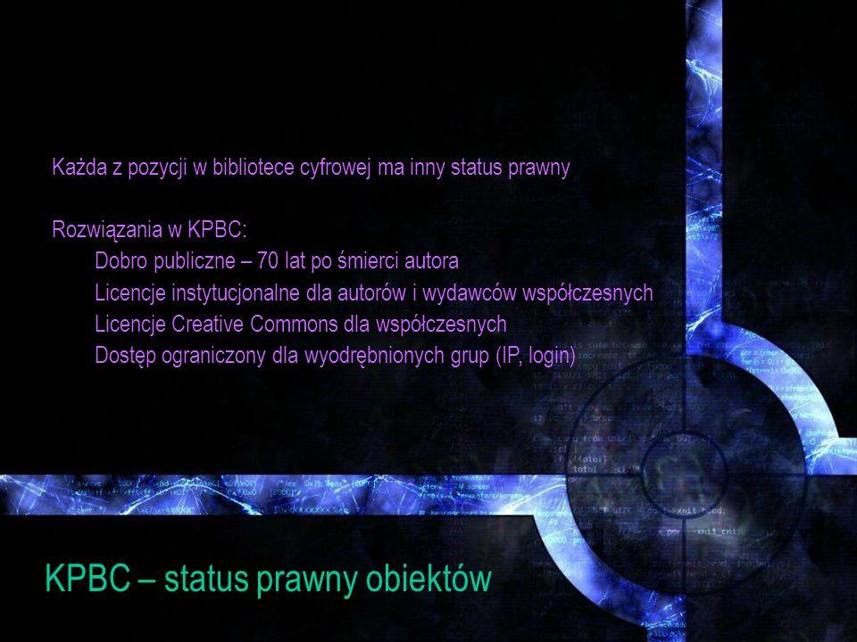 II rozwiązanie współpraca z regionalną bc 1.przekonać decydentów i pracowników nauki w macierzystej uczelni do podjęcia współpracy w zakresie współtworzenia zasobów cyfrowych; 2.wskazać na szeroką promocję polskich dzieł medycznych umieszczonych online; 3.przygotować instytucjonalną politykę tworzenia zasobów medycznych (co, dla kogo i gdzie digitalizujemy); 4.zlokalizować najbliższą bibliotekę cyfrową i podjąć z nią współpracę; 5.przeszkolić 2-3 pracowników w zakresie nowych obowiązków; 6.zbudować małą pracownię digitalizacji; 7.rozpocząć pozyskiwać prawa autorskie swoich pracowników naukowych; 8.zacząć umieszczać czasopisma uczelniane i prace doktorskie, kursy, wykłady; 9.przekonać lokalnych wydawców do swojej idei, wypromować ich wkład, linkować do ich stron tytuły u nich publikowane; 10.wypromować tak zbudowany zasób.