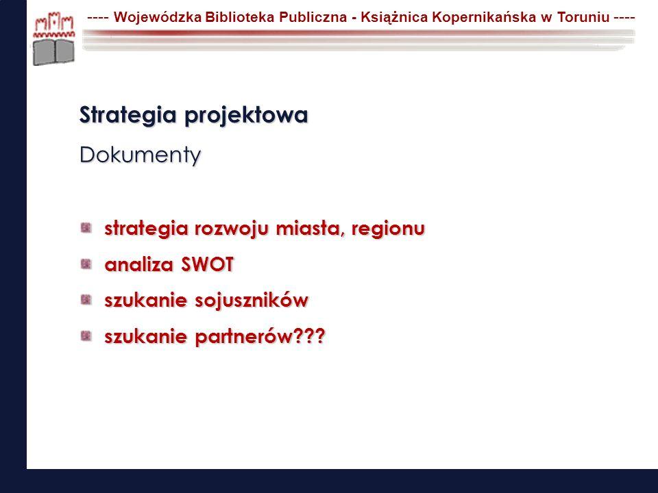 Strategia projektowa Wyszukiwanie programów Programy operacyjne Programy ministerialne Programy europejskie Inne